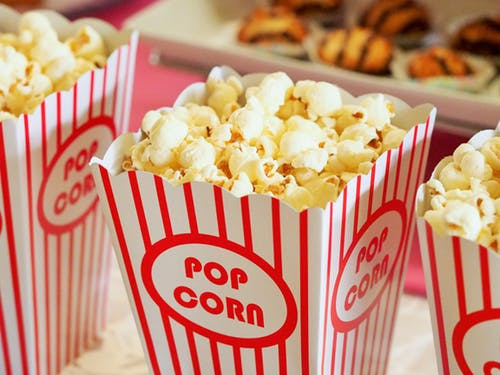 Chillwall, popcorn, Valentine's Day ideas