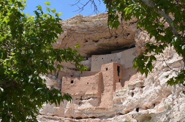 Montezuma Castle in Camp Verde, Arizona.