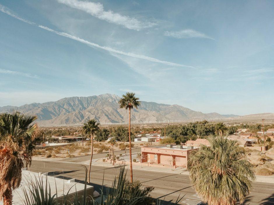Palm Springs, a desert town in California